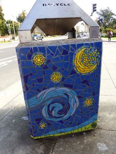 An Oakland garbage can.
