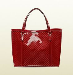 Gucci Nice Microguccissima Glossy Patent Leather Tote on shopstyle.com