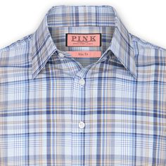Thomas Pink - Locomotive Check Shirt - Button Cuff    @Thomas_Pink_ ...via @Pinterest
