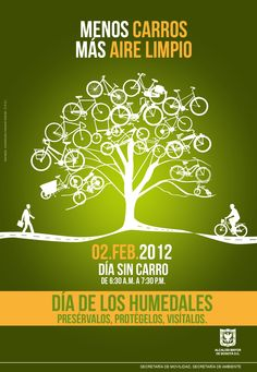 image for no car day in Bogotá