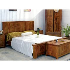 A simplistic solid wood bedroom set , solid sheesham , bedroom wardrobe with drawers & matching chest of drawers, blanket box & bedside tables. Wardrobe Drawers, Bedroom Wardrobe, Wood Bedroom Sets, Bedroom Furniture Sets, Blanket Box, Solid Wood, Contemporary, Table, Decor Ideas