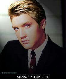 Blonde Elvis