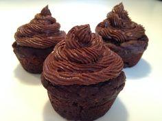 Muffin Recipes, Cupcake Recipes, Dessert Recipes, Clean Eating Desserts, Healthy Desserts, Desserts Sains, Cupcakes, Caramel, Homemade Breakfast