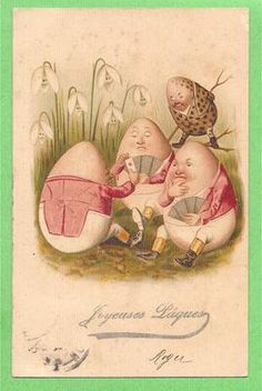Eggs Postcards