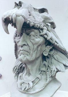 fantasy shaman mask by dreamfloatingby on deviantART