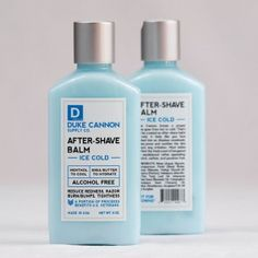 AFTER- SHAVE BALM Provides an extra cooling effect that helps close the pores and provide instant comfort. Superior grade ingredients like aloe and shea butter provide hydration while minimizing razor burn. A light SANDALWOOD fragrance leaves you smelling and feeling your handsome best.