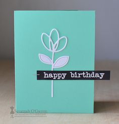 I've created a video sharing 4 different birthday cards that can be easily mass produced. Each card is different--- you can even vary the design and papers to make them personal!   This card is SUPER SIMPLE (totally CAS)!   Click HERE to watch the video and for more information: http://virtualsmooches.blogspot.com/2015/10/mass-production-birthday-cards-with.html  Thanks so much for watching my video and checking out my project;)