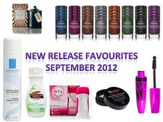 ThePlasticDiaries.com's New Release Favourites for September 2012