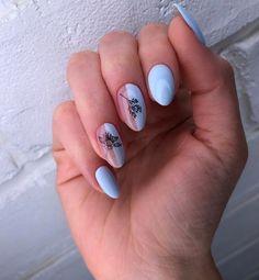 Les Nails, Minimalist Nails, Beautiful Nail Art, Perfect Nails, Nail Trends, Nail Inspo, Trendy Nails, Nail Arts, Swag Nails