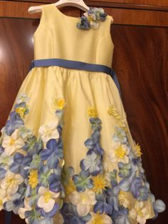 Lesy *** Itália vestido de meninas 100%