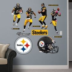 Fathead Pittsburgh Steelers 2014 Power Pack Wall Decals | Overstock.com Shopping - The Best Deals on Wall Decals