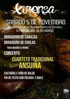 CORES DE CAMBADOS: MAGOSTO DE XIRONSA O 5 DE NOVEMBRO EN CORVILLÓN