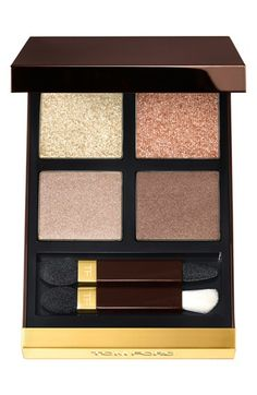Tom Ford Eyeshadow Quad | Nordstrom Golden Mink Olivia Palermo makeup inspiration for Steph