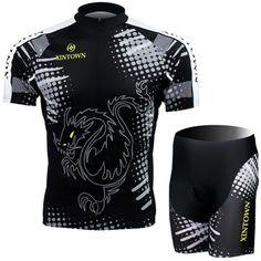 Freefisher Men's Cycling Bicycle Short Jersey Set Dragon