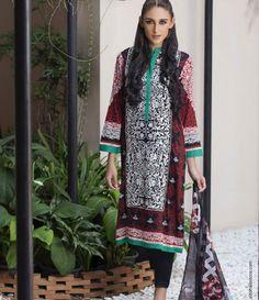 Anaya Embroidered Suits Collection  anaya_02B