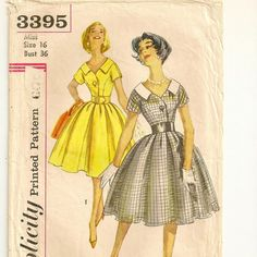 Dress with Detachable Collar Pattern by SoSewSome, $6.00