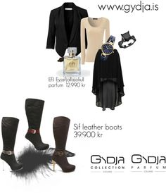 """Sif Boots"" by kolla-1 on Polyvore"