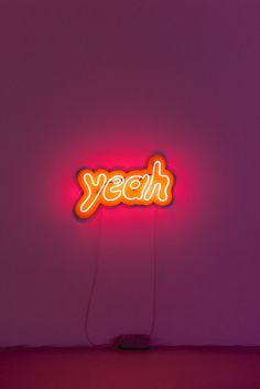 Yeah by Jon Campbell (2013). Neon Light SignsNeon ...