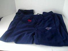 New England Patriots Nfl Football  XL Blue Fleece Sweat Pants #Nfl #NewEnglandPatriots
