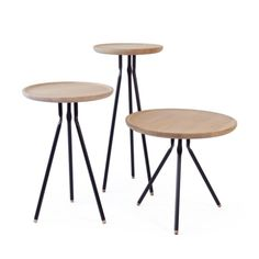 Ubikubi Bend Medium Coffee Table|Ash|Oak