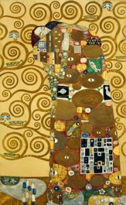 Die Erfüllung  by Gustav Klimt Canvas Art, Canvas Prints, Art Prints, Klimt Prints, Art Klimt, The Kiss, Art Nouveau, Main Image, Art Carte