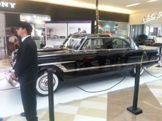 Packard presidential limo