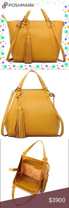 💕COMING SOON💕Classic Tote Bag Gorgeous and functional classic tote bag in mustard yellow! This is beautiful and will catch the eye of everyone who sees it! Use it for travel or on-the-go style!🌟PRICE FIRM UNLESS BUNDLED🌟 Pink Haley Bags Totes