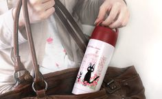 Studio Ghibli Kiki's Delivery Service Thermos Bottle Adorable and useful drink bottle! Best Coffee Thermos, Coffee Delivery, Discount Coffee, Kiki's Delivery Service, Studio Ghibli, Coffee Beans, Bottle, Kitchen, Cooking
