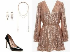 New Year's Eve Look Ideas for 2019 and Meaning of Colors Dresses For Teens, Cute Dresses, Short Dresses, Midi Dresses, Evening Outfits, Evening Dresses, Dressy Outfits, Bar Outfits, Vegas Outfits