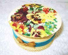 Wooden trinket jewelry decoupage boxcandy box Pillow by GattyGatty, $27.00