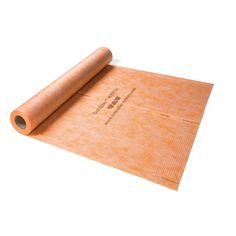 Schluter Kerdi Waterproofing Membrane is ideal for waterproofing tiled tub surrounds and showers. Constructed of plastic material.