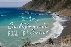 """A visit to California wouldn't be complete without a road trip onthe Pacific Coast Highway. This iconic road continues along most of the California coast and can be enjoyed at any pace... whether it's over the course of 1 day or2 weeks.  For the perfect """"sampler platter"""""""