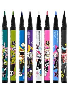 tokidoki eyeliner LOVE THE PINK AND BLUE ONE!!! @ Sephora