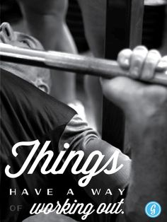 #Greatest Poster: Things Have a Way of Working Out.