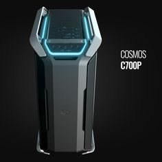 An animated wallpaper of our newly launched case the COSMOS Now with color and mode selector. Kiosk Design, Gaming Room Setup, Industrial Design Sketch, Robot Design, Futuristic Technology, Design Language, Pc Cases, Machine Design, Design Reference