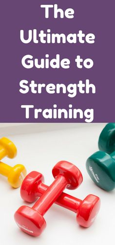 In order to really get the results you want, and to really see your body change, you must make strength training part of your regular routine.