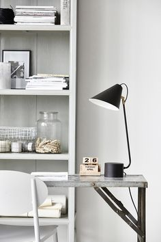 House Doctor home office accessories. House Doctor, Home Office Design, Home Interior Design, Interior Decorating, Design Interiors, Office Style, Industrial House, Industrial Style, Industrial Interiors