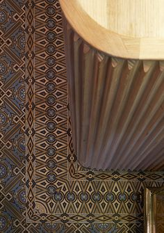 Antique Belgian cement tiles used in Dukes Coffee Roasters by Chris Connell Design Floor Patterns, Tile Patterns, Cafe Design, Interior Design, Bar Counter Design, Joinery Details, Tile Art, Restaurant Design, Architecture