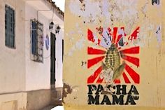 """Pacha Mama, or """"mother earth""""."""