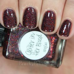 Lynnderella Glitter In Her Blood | Peachy Polish