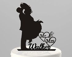 Wedding Cake Topper Groom Lifting Bride by TrueloveAffair on Etsy