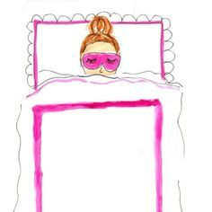 This is so me! Eye mask and covers pulled up to the nose.
