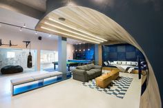 The coolest teen hangout entertainment room, teen basement, man cave basement, teen hangout