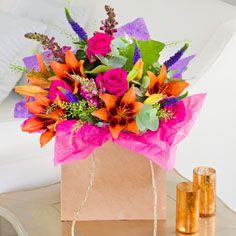 Tropical flower colors
