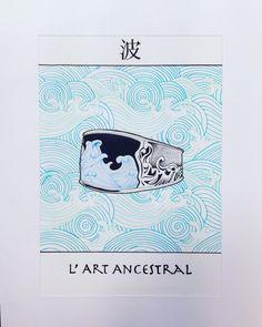 David Yurman Waves Carved Ring - Hokusai Illustration ✏️ by me !