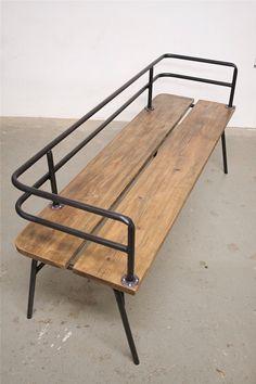Panka - Indoor/ outdoor bench by FunkTastik on Etsy https://www.etsy.com/listing/61827251/panka-indoor-outdoor-bench