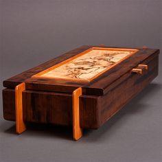 Fine Wood Furniture by Steve Altman Woodworking Jewellery Box, Woodworking Box, Woodworking Projects That Sell, Woodworking Furniture, Wood Furniture, Small Wood Box, Small Boxes, Wooden Keepsake Box, Keepsake Boxes