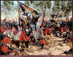 """The 5th New York Volunteer Infantry Regiment known as """"Duryée's Zouaves"""" were one of the numerous """"Zouave"""" regaments that served on both sides during the Civil War."""