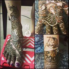 Part Sushmas #Bridal #mehndi | Flickr - Photo Sharing!