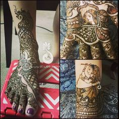 Part Sushma's #Bridal #mehndi   Flickr - Photo Sharing!